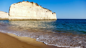 Beautiful beach Portugal, Algarve royalty free stock image