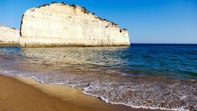 Beautiful beach Portugal, Algarve Royalty Free Stock Image