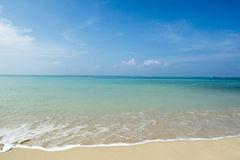 Beautiful beach Royalty Free Stock Photography