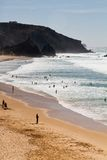 Beautiful beach in Sagres Stock Photo