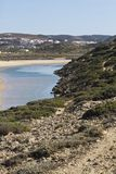 Beautiful beach in Sagres Royalty Free Stock Photo