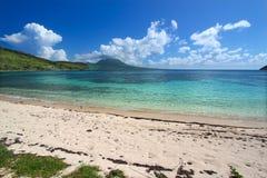 Beautiful beach on Saint Kitts Stock Photo