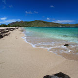 Beautiful beach on Saint Kitts Stock Photos