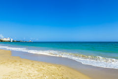 Beautiful beach in San Juan Royalty Free Stock Photos