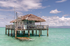 Beautiful beach Sand Bar at Dumaguete Royalty Free Stock Image