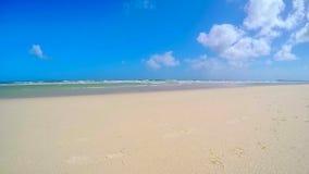 Beautiful beach scene background Royalty Free Stock Photos