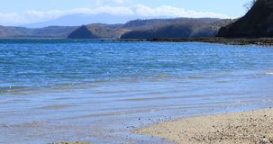 Beautiful beach scene in Costa Rica 4K. A Beautiful beach scene in Costa Rica 4K stock video footage