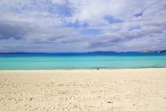 Beautiful Beach Scene Royalty Free Stock Photography
