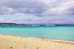 Beautiful Beach Scene Stock Images