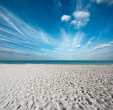 Beautiful beach and sea stock photos