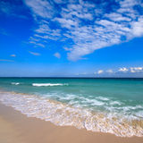 Beautiful beach and sea Royalty Free Stock Photos