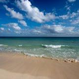 Beautiful beach and sea royalty free stock photo