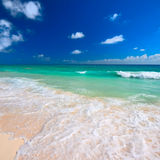 Beautiful beach and sea Stock Image