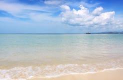 Beautiful beach and sea at Naiyang beach Stock Images