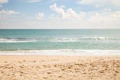 Beautiful beach sea and sky and tropical sea. Beautiful beach sea and sky and tropical sea Royalty Free Stock Photography
