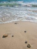 Beautiful beach and sea. In summer season Stock Photo