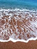 Beautiful beach and sea wave Stock Photos
