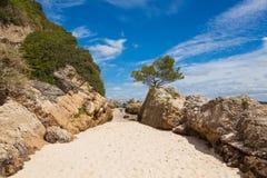 Beautiful beach of Setubal near Lisbon Portugal Stock Images