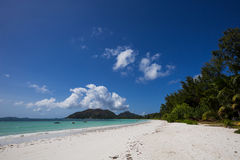 beautiful beach in Seychelles Royalty Free Stock Image
