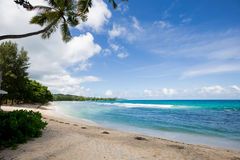 Beautiful beach in Seychelles. ,africa Stock Photography