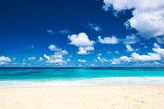 Beautiful beach at Seychelles Royalty Free Stock Image