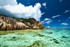 Beautiful beach at Seychelles Royalty Free Stock Photography