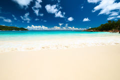 Beautiful beach at Seychelles Royalty Free Stock Photography