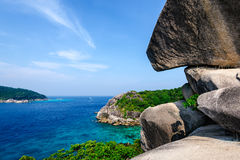 Beautiful beach, Similan islands Royalty Free Stock Photo
