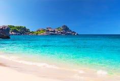Beautiful Beach Similan Islands.Thailand Royalty Free Stock Photos