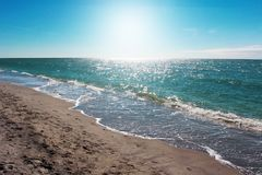 Beautiful Beach of South Venice. Royalty Free Stock Photography