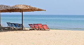 Beautiful beach in southern Vietnam Royalty Free Stock Image