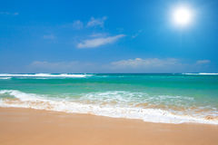 Beautiful beach in summer Royalty Free Stock Photography