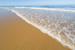 Beautiful beach in summer Stock Photography