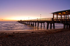 Beautiful beach sunrise in Florida Royalty Free Stock Image