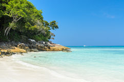 Beautiful beach on Tachai island Royalty Free Stock Photos