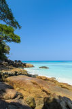 Beautiful beach on Tachai island Stock Photography
