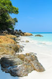 Beautiful beach on Tachai island Royalty Free Stock Photo