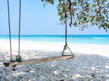 Beautiful beach at Tachai island, Thailand Stock Images
