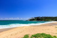 Beautiful Beach, Tangalle, Sri Lanka Royalty Free Stock Photography