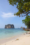 Beautiful beach in Thailand Royalty Free Stock Photo