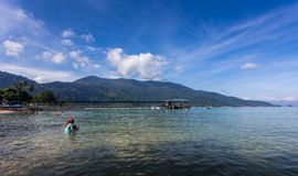 Beautiful beach of Tioman Island. stock photo