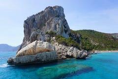 Cala Luna. Beautiful beach to sardinia called cala luna Stock Images