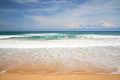 Beautiful beach and tropical Andaman sea Royalty Free Stock Image