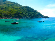 Beautiful beach on a tropical island Koh Racha Yai Stock Image