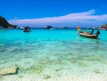 Beautiful beach on a tropical island Koh Racha Yai Royalty Free Stock Photography