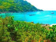 Beautiful beach on a tropical island Koh Racha Yai Royalty Free Stock Images
