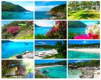 Beautiful beach on a tropical island Koh Racha Yai Royalty Free Stock Image