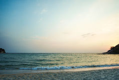 Beautiful beach and tropical sea Royalty Free Stock Image