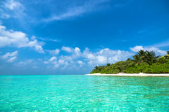 Beautiful beach and tropical sea Stock Photography
