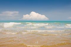 Beautiful beach and tropical sea. Stock Photos